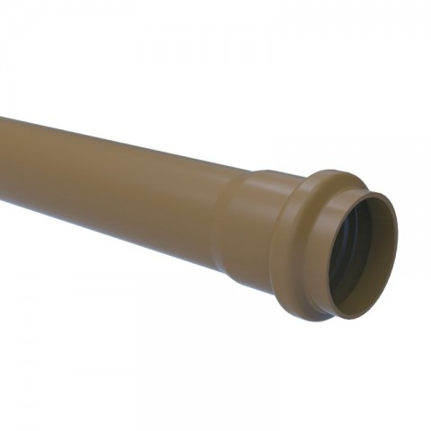 "TUBO PVC PBA JEI CLASSE 15 - 3""(85 MM) X 6 M TIGRE"