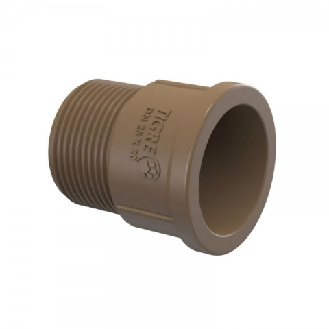 "ADAPTADOR CURTO PVC SOLDA 1.1/2"" (50 MM) X 1.1/4"" (40 MM) TIGRE"