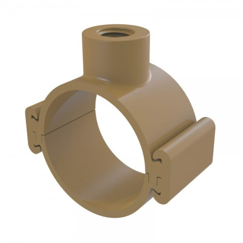 "COLAR TOMADA PVC TRAVA 60 MM X 3/4"" TIGRE"