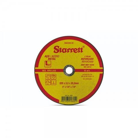 "DISCO DE CORTE 9"" DAC230-34 STARRET"