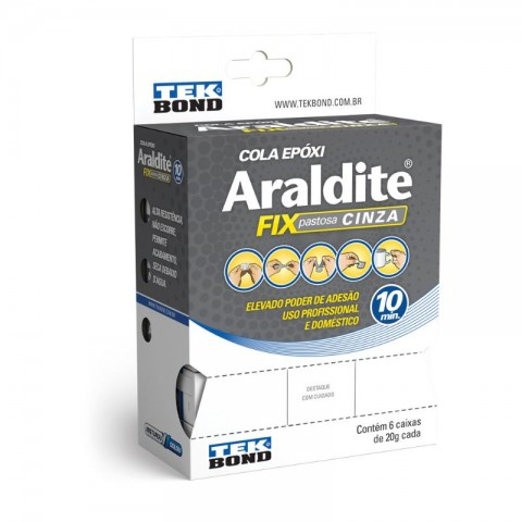 ADESIVO ARALDITE FIX CINZA 20GR 10818500800