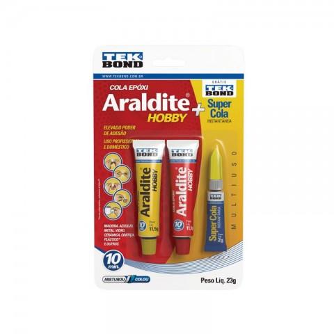 ADESIVO ARALDITE KIT HOBBY 23GR+COLA2G 10828500702