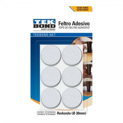 FELTRO REDONDO 30MM PT C/12 23701002000