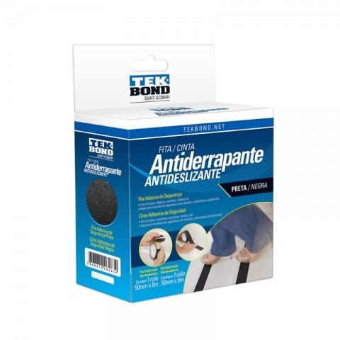 FITA ANTIDERRAPANTE PRETA 50MMX5M 21161050501