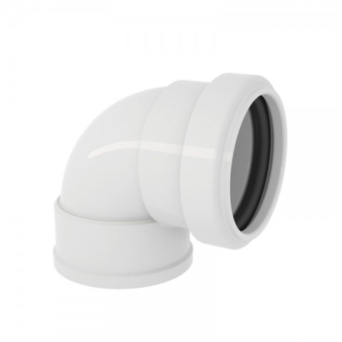 """JOELHO 90° BOLSA PVC ESGOTO PARA ANEL 1.1/2"""" (40 MM) TIGRE"""