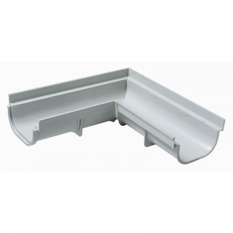 ESQUADRO 90° EXTERNA PVC PARA CALHA DE PISO 130 MM X 75 MM TIGRE