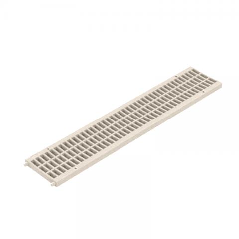 GRELHA PVC PISO AREIA 100 MM X 500 MM - PEDESTRE TIGRE