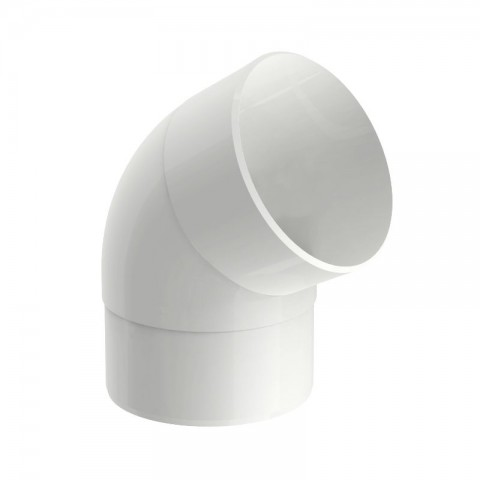 JOELHO 60° PVC PARA CONDUTOR CIRCULAR AQUAPLUV STYLE BRANCO TIGRE