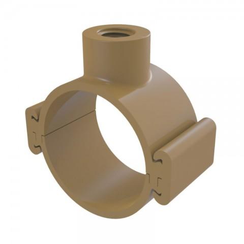COLAR TOMADA PVC TRAVA 85 MM X 25 MM