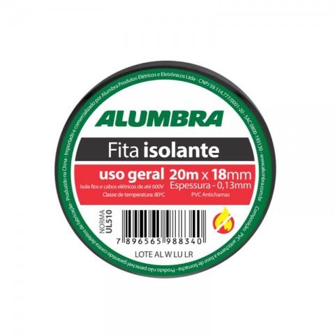 FITA ISOLANTE 20 M X 19 MM ESPESSURA 0,15 MM ALUMBRA