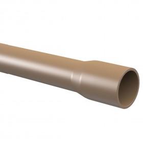TUBO PVC SOLDA CLASSE 12 - 60 MMX 2,7 MM X 6 M